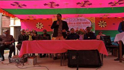 বকশীগঞ্জ এন এম উচ্চ বিদ্যালয়ে  এস এসসি পরীক্ষার্থীদের বিদায় সংবর্ধনা
